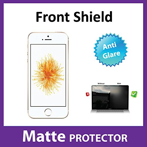 Apple iPhone SE Screen Protector Front MATTE Anti Glare Film Military Grade Protection Exclusive to ACE CASE