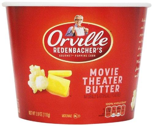 Orville Redenbacher's Movie Theater Butter Popcorn Tub, 3.9 oz.