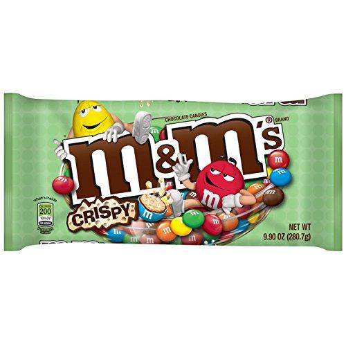 M&M'S Crispy Chocolate Candy 9.9-Ounce Bag
