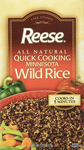 Reese Wild Rice, Quick Cooking, 2.75 Ounce Box