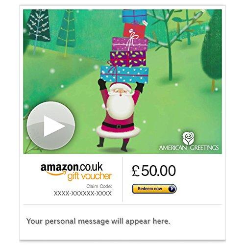 Christmas Gifts (Animated) - E-mail Amazon.co.uk Gift Voucher