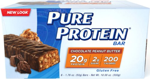 Pure Protein Chocolate Peanut Butter, 50 gram, 6 count (Pack of 12)
