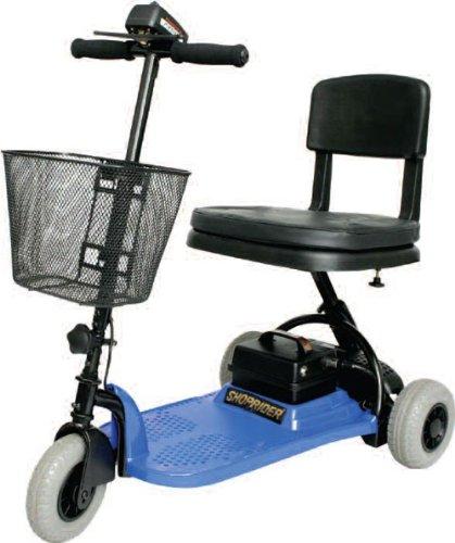 Shoprider SL73-BLUE-Echo 3 Wheel Scooter Blue