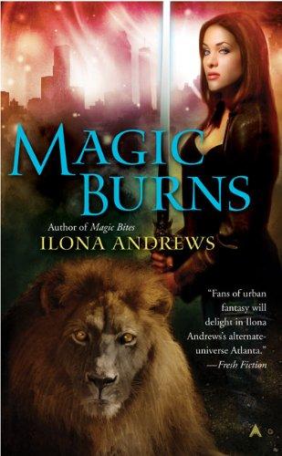 Magic Burns (Kate Daniels)