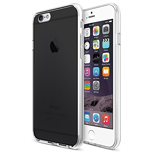 iPhone 6 Plus Case, Maxboost [Liquid Skin Pro] iPhone 6 Plus (5.5 inch) Cases Bumper [Lifetime Warranty] Color Seamless integrated Shock-Absorbing Bumper and Ultra Clear Back Panel Protective Cover