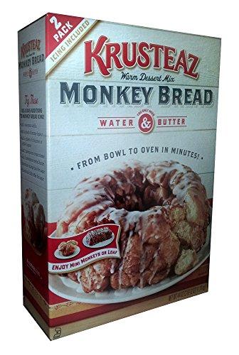 Krusteaz Monkey Bread Warm Dessert Mix - 44 oz.