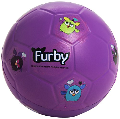 FURBY Fun Foam Ball for Kids (Purple)