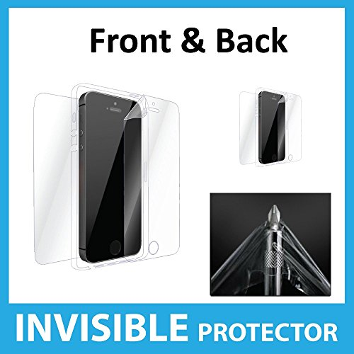 Apple iPhone SE Full Body INVISIBLE Screen Protector Film (Front, Back & Sides included) Military Grade Protection Exclusive to ACE CASE