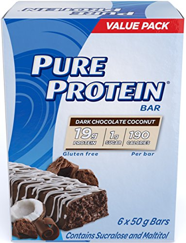 Pure Protein Dark Chocolate Coconut Value Pack, 6-Count