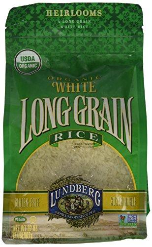 Lundberg Organic Rice - Long Grain White - 32 oz