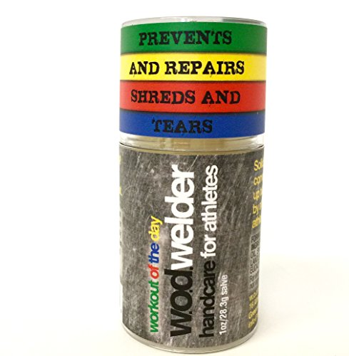 w.o.d. welder Solid Salve Balm - Hydrates Your Calluses and Hands