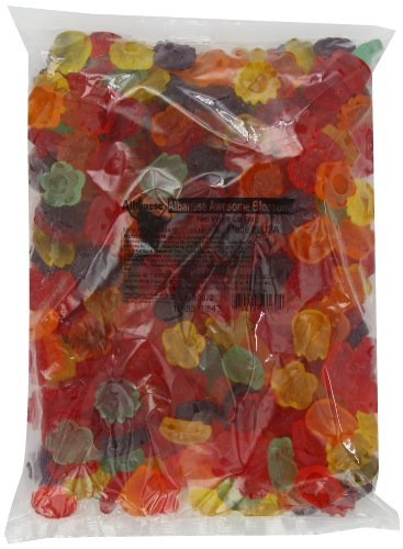 Assorted Flowers Gummy Candy 5 Lbs.
