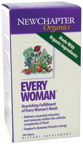 New Chapter Every Woman Multivitamins, 180 Count