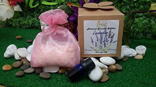 Scented Sachet Lavender Scents 100 G, Lavender Sachet Gift Set for Pillow, Drawstring Sachets Lavender, Lavender Sachets for Storage, Lavender Sachets for Closets, Lavender Sachets for Drawers