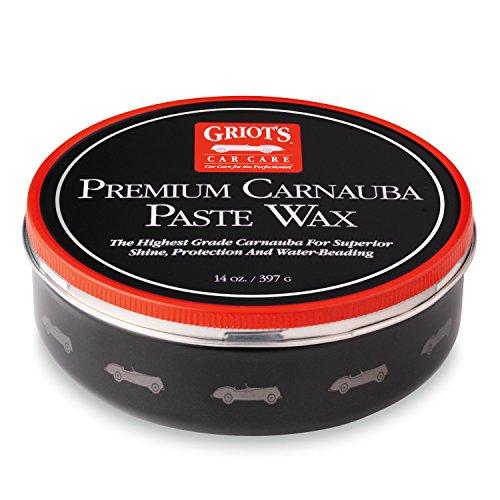 Griot's Garage 11029 Premium Carnauba Paste Wax - 14 oz.