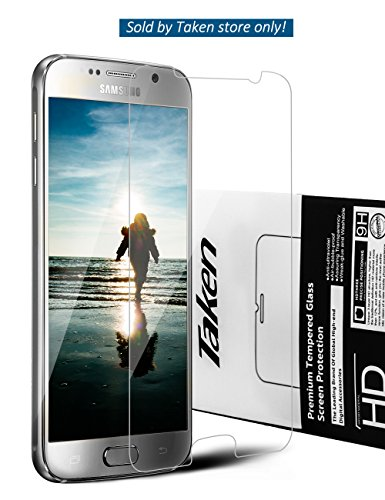 Taken Samsung Galaxy S6 screen protector - Tempered Glass - High Definition - Ultra Clear