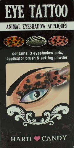 Hard Candy Eye Tattoo Animal Eyeshadow Appliques