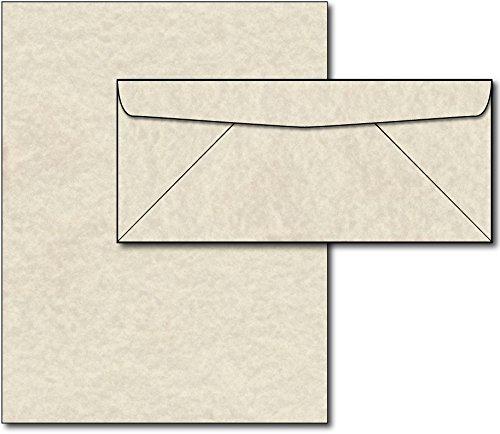 Natural Parchment Paper & Envelopes - 40 Sets