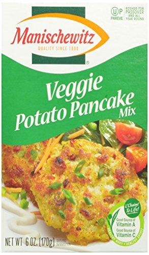 Manischewitz Potato Pancake Mix, Vegetable, 6 Ounce