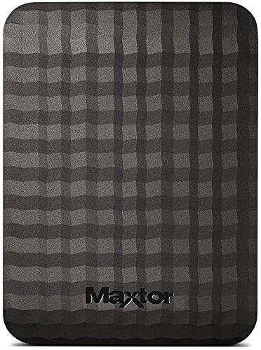 Maxtor M3 3 TB Portable External Hard Drive - Black