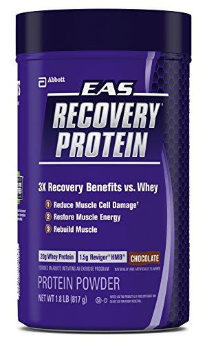 EAS Recovery Protein Powder, Chocolate, 1.8 Pound, 11 Servings