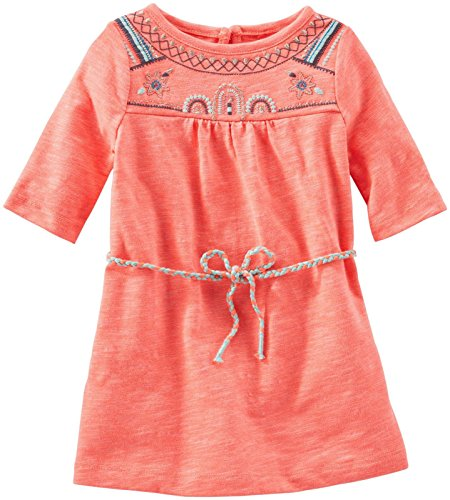 OshKosh B'gosh Baby Girls' Embroidered Knit Dress (Baby)