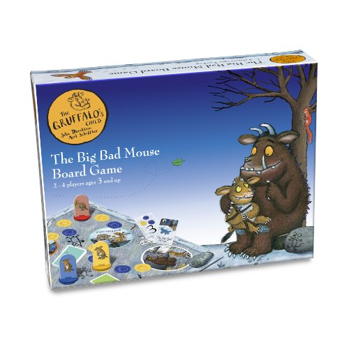 Paul Lamond The Gruffalo's Child Big Bad Mouse Board Game