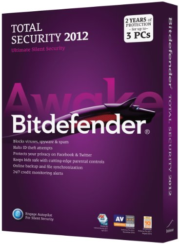 Bitdefender Total Security 2012 Value M2 3Pc/2 Years [Old Version]