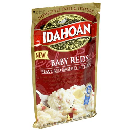 Idahoan Baby Reds Flavored Mashed Potatoes (4 Oz Package)