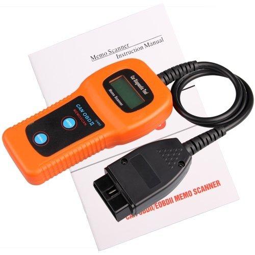 SODIAL (R)U480 OBD2 LCD Car Diagnostic Scanner Fault Code Reader