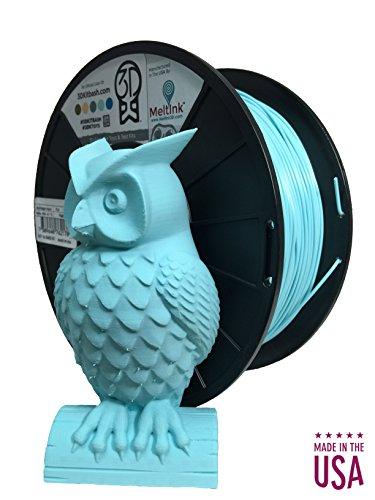 MeltInk3d QuinSaga Aqua 2.85mm PLA/PHA 3D Printer Filament 1Kg