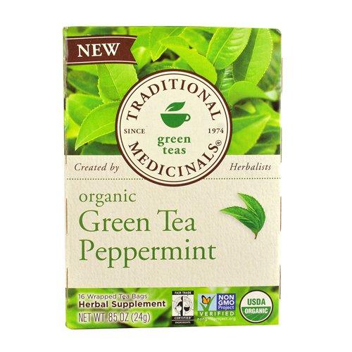 Traditional Medicinals Organic Tea, Peppermint, 16 Count