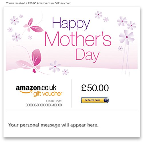 Mother's Day - E-mail Amazon.co.uk Gift Voucher