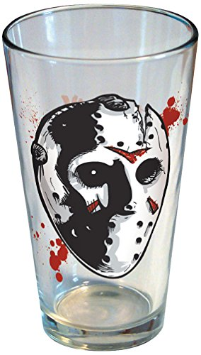 ICUP Friday The 13th Jason Hockey Mask Pint Glass