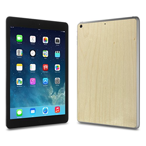 Cover-Up #WoodBack Real Wood Skin for iPad Air - Maple