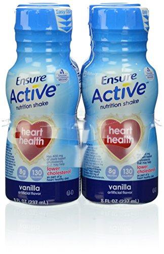 Ensure Active Heart Health Vanilla, 4 Count