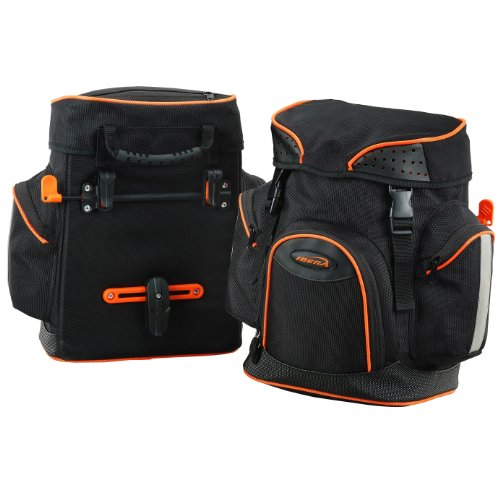Ibera Bicycle Clip-on Quick-Release Panniers