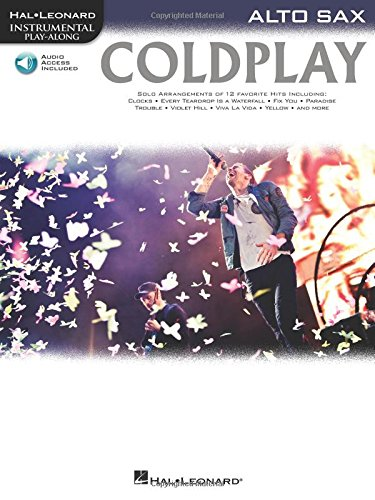 Coldplay: for Alto Sax (Hal Leonard Instrumental Play-Along)