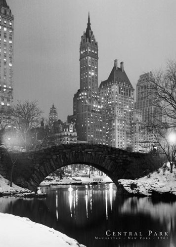NYC - Central Park, 1961 Photo Print Poster - 24x36