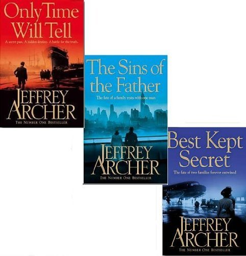 Jeffrey Archer Clifton Chronicles Trilogy Collection 3 Books Box Set (Only Time Will Tell, The Sins Of The Father, Best Kept Secret)