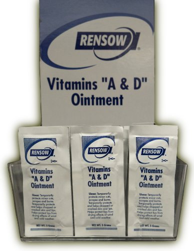 Rensow Super Vitamins A & D Ointment - Foil Packets