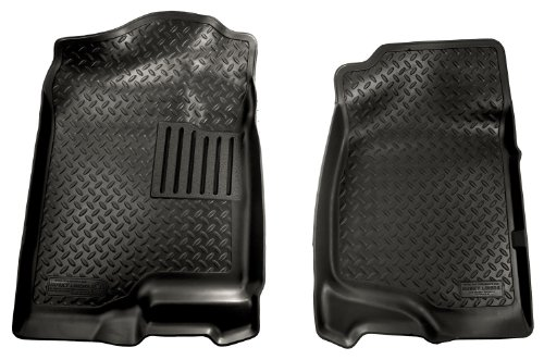 Husky Liners Classic Style Custom Fit Molded Front Floor Liner for Select Chevrolet/Cadillac/GMC Models (Black)