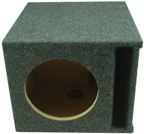 ASC Single 8 Subwoofer Universal Slot Vented Port Sub Box Speaker Enclosure