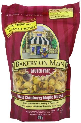Bakery On Main Nutty Cranberry Maple, Gluten Free Granola, 12 oz Bags, 6 pk