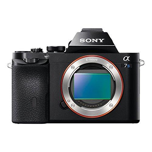 Sony ILCE7SB Full Frame Compact System Camera Body (ISO Senstivity 50-409600, 3.0-inch Tiltable LCD, 5 fps, XGA OLED Tru-Finder) - Black