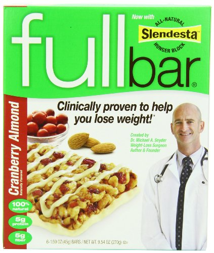 Fullbar Cranberry Almond, 6-Count