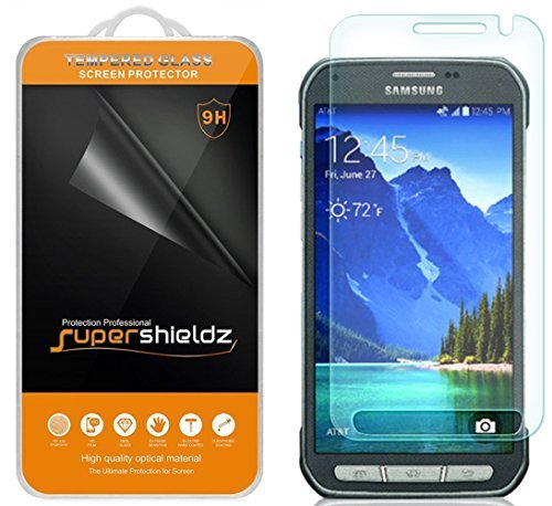 Supershieldz Tempered Glass Screen Protector for Samsung Galaxy S6 Active - Retail Packaging