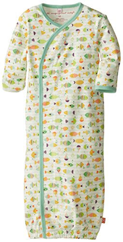 Magnificent Baby Unisex-Baby Newborn Here Fishy Fishy Gown