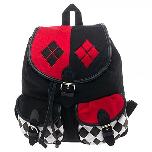 DC Comics Harley Quinn Knapsack Backpack