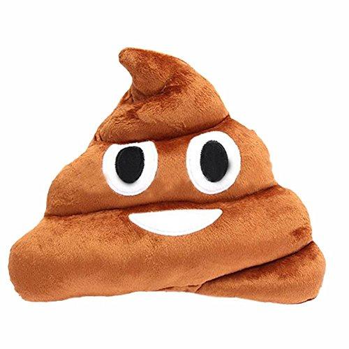 VIKEN Emoji Emoticon Cushion Plush Soft pillow 32cm Poop Shaped